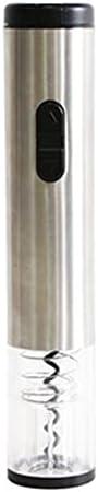 Abridor de Vino Eléctrico Abrigos de Vino Camareros Amigo Sacacorchos Professional Bottle APENSIÓN Sommelier Electric Electric BOTEL APENSIÓN Fácil de Usar (Color : Silver, Size : One Size)