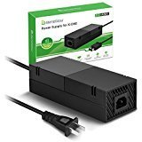 BeneGlow Ultra-quilt Low Noise Xbox One Power Supply, AC Adapter Replacement Charger for Xbox One ()