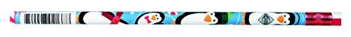 J.R. Moon Pencil JRM2138B Dozen of Christmas Assortment Pencils, 0.7'' Height, 2.2'' Wide, 8.2'' Length (12 Count) by J.R. Moon Pencil (Image #1)