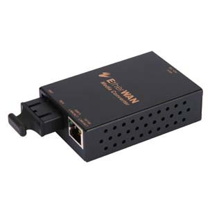 EtherWAN Mini 10/100TX/100FX SM(SC) 40Km Media Converter by EtherWAN