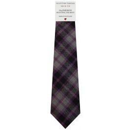 Mens Tie All Wool Made in Scotland MacPherson Hunting Ancient Tartan