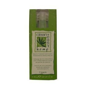 Clean Easy Facial Waxer (Clean & Easy Wax Refill 3-pack Small* Hemp Formula)