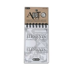 Deja Views - C-Thru - Art-C Collection - Artist Trading Card - Printed Elements Tablet - Frames and Border ()