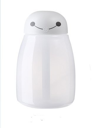 HC & ABELE 400ml Mini Portable 7 Color LED Night Light Cool Mist Humidifier with Timed Auto Shutdown for Home Office, - Cubicles Christmas