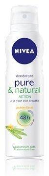 - Nivea Pure & Natural Action Jasmine Deodorant Spray 150 Ml