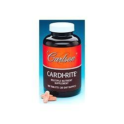 Carlson Labs Cardi-Rite Soutien cardiovasculaire, 360 Tablets
