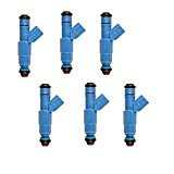 OEM UPGRADE 12-HOLE FUEL INJECTORS FOR 04-12 JEEP 3.7L ,add MPG, TORQUE (pack of (Jeep Cherokee Mpg)