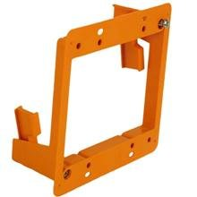 Construct Pro Slim Dual Gang Open Back Low Voltage Bracket, Each