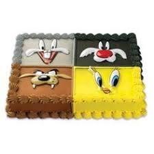 Looney Tunes Pop Top Cake Set