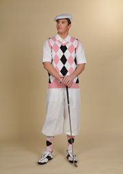 Edwardian Men's Pants Golf Knickers $65.00 AT vintagedancer.com