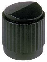 EHC (ELECTRONIC HARDWARE) MS91528-1D2S ROUND SKIRTED KNOB, 6.35MM