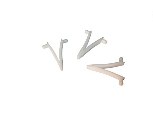 Pool Netr CLPW-002 Butterfly Clips (3 Pack), Small, White