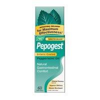 Nature's Way, Pepogest, Enteric-Coated Peppermint Oil, 60 Softgels