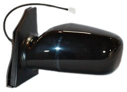 TYC 5230232 Toyota Corolla Driver Side Power Non-Heated Replacement Mirror (2004 Toyota Corolla Driver Side Window Glass)