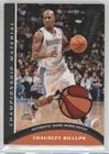 Chauncey Billups #11/50 (Basketball Card) 2009-10 Topps - Championship Material - Patch (Cbi Patch)