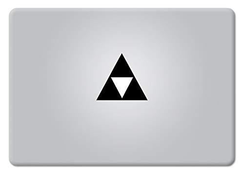 Triforce Keyboard trackpad die Cut Sticker