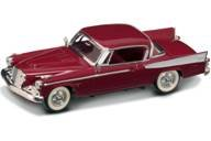 (1958 Studebaker Golden Hawk Garnet/Burgundy 1/43 by Road Signature 94254)