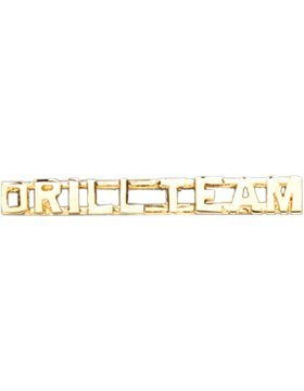 Drill Team ROTC Collar Insignia Gold - Rotc Drill Team Shopping Results