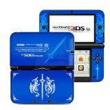 Announce Fire Emblem Blue Limited Edition VINYL SKIN STICKER DECAL COVER for Nintendo 3DS XL / LL Console System