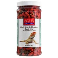 Aquaculture Adult Bearded Dragon Trail Mix Premium Pellet Food - Freeze Dried Crickets, Mealworms and Vitamin-Fortified Pellets - 2.9 OZ ()