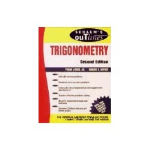 Schaum's Outline of Theory and Problems of Trigonometry: With Calculator Based Solutions by Frank Ayres (1989-09-29)