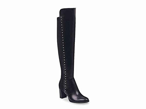 Marc Fisher Womens Lapture Closed Toe Over Knee Fashion Boots, Black, Size 9.0