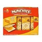 Munchies Nacho Cheese Sandwich Crackers (Pack of 4) Frito Lay