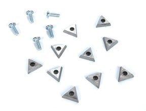 AMMCO 940435 Accu-Turn Style Combination Carbide Bits, 10 Pack Accu Turn Brake Lathe