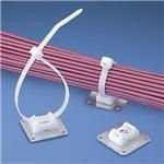 Cable Tie Mount, Swivel, Adhesive, Natural, Aluminium, Nylon (Polyamide), 28.6 mm, 28.6 mm