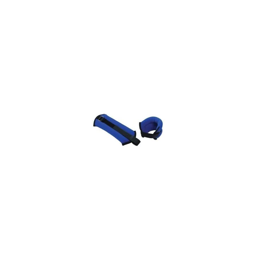 Tone Fitness HHA TN002 Ankle/Wrist Weights, Pair, 1 lbs