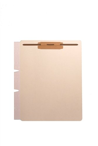 Colortrieve Manila Fileback Tab Divider Sheet, Side Wing Box of 100