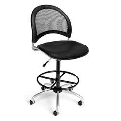 (OFM Moon Swivel Chair & Stool 336-VAM-DK by OFM @ Office Chairs Outlet)
