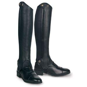 (Tredstep Deluxe Half Chaps, Size Medium-Tall, Brown)