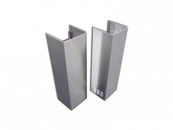 Atlas International SV218 ACS-CCEL-Z/Q WM 10 FEET 10 ft. Cavaliere Chimney Extension - Wall Mount Z-Q