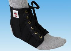 Elastic Ankle Support Lightweight Large (Ventilated Core Belt Elastic)