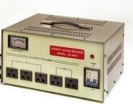 Voltage Regulator Power Conditioner (VCT AR8000 - Heavy Duty Automatic Voltage Regulator / Stabilizer with Built-in Voltage Transformer for AC 110V/220V/240V - 8000 Watt)