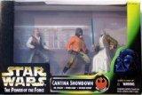 Star Wars Power of the Force Cinema Scenes Cantina Showdown with Dr. Evazan, Ponda Baba, and Obi-Wan Kenobi Action Figures