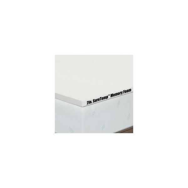 Serta Deluxe 2 Inch Memory Foam Mattress Topper Size King Mp12835