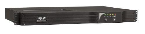 Tripp Lite 750VA Smart UPS Back Up, Sine Wave, AVR, 120V 600W Line-Interactive, 1U Rackmount, USB, DB9 Serial (600 Va Ups System)