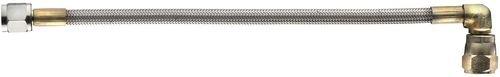 "Aeroquip FBPA0039-50 50"" Size (-3) Straight 90° Teflon Hose"