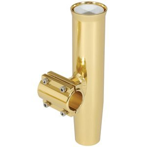 (LEE'S CLAMP-ON ROD HOLDER GOLD ALUM HORIZONTAL PIPE SIZE #1)