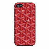 gory-red-goyard-iphone-5-5s-case