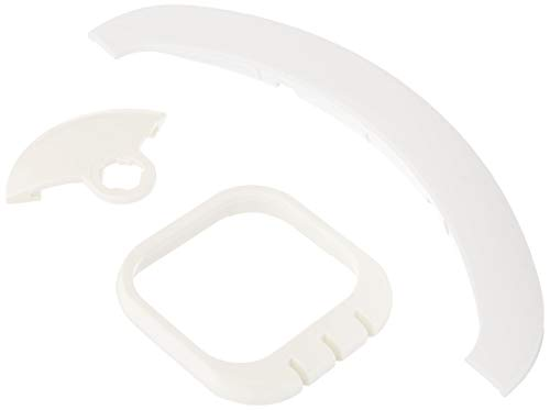 Zodiac R0375500 White Gunite Bumper Flatmouth Replacement Kit for Zodiac Jandy Automatic Pool Cleaner