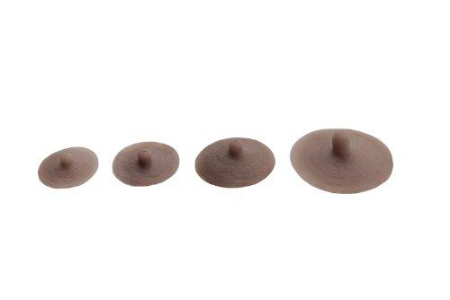 Envy adhésif Attachable réaliste Transform former mammaires en silicone Perky Nipples (M)