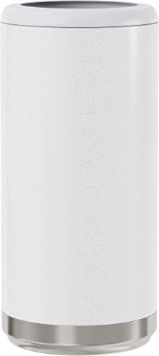 Maars Skinny Can Cooler for Slim Beer & Hard Seltzer | Stainless Steel 12oz Sleeve, Double Wall Vacuum Insulated Drink… |