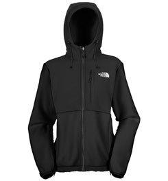 The North Face Women's Denali Hoodie Black Size Large (Denali Jacket Womens)