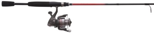 Quantum Optix Spinning Combo Optix Reel with 6'0-Inch Medium 2 Piece Rod