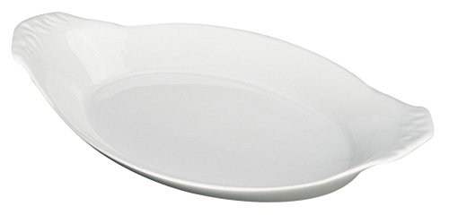 Bia Cordon Bleu Inc 900049 8 Oz White Oval Porcelain Au Gratin Bowl JNSN80183
