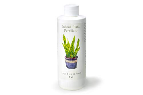 Indoor Plant Food | All-purpose House Plant Fertilizer | Liquid Common Houseplant Fertilizers for Potted Planting Soil | by Plants for Pets
