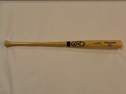 JUNG HO-KANG SIGNED FULL-SIZE TAN RAWLINGS BAT PITTSBURGH PIRATES PROOF